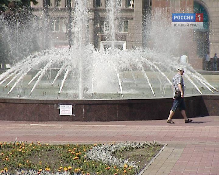 ВЧелябинске коДню победы починят главный фонтан