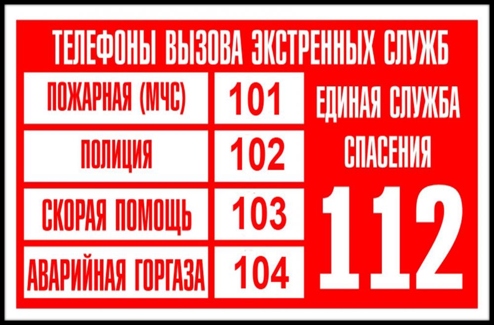картинки с номерами спецслужб