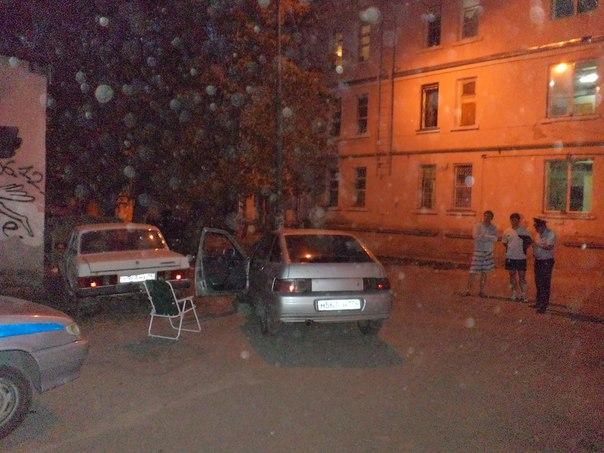 ВЧелябинске ВАЗ наехал наребенка, сдавая назад