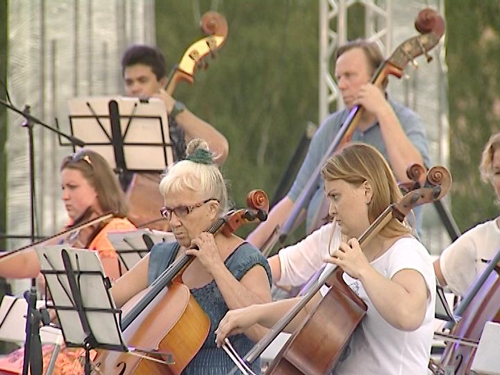 Благотворительный симфонический концерт настройплощадке храма вЧелябинске состоится сегодня