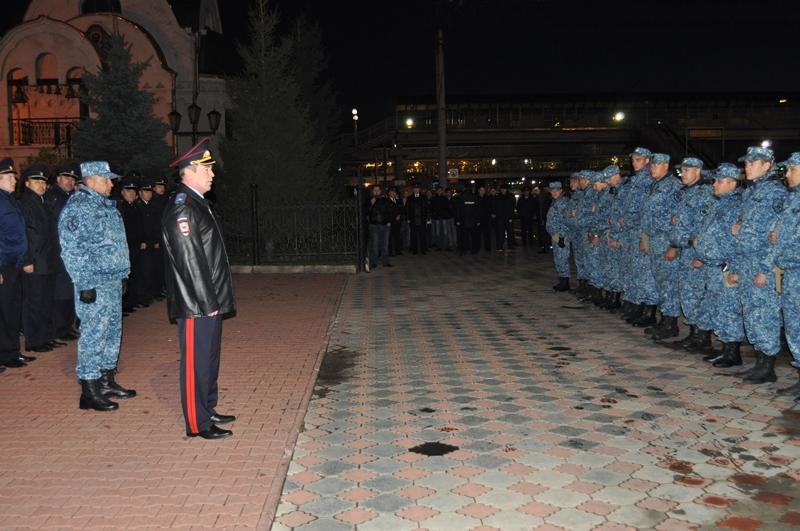 Челябинские полицейские вернулись домой изДагестана