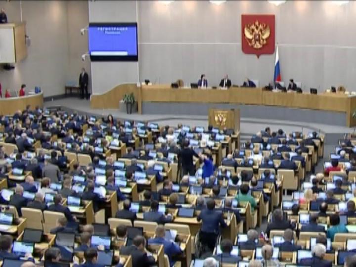 В.Путин поздравил депутатов Государственной думы VII созыва сначалом работы