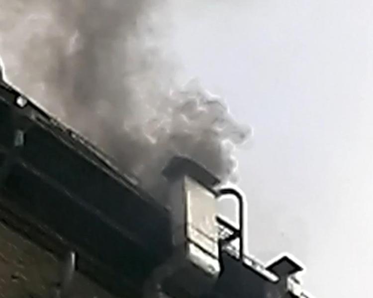 ВЧелябинске напроспекте Ленина произошел пожар вресторане «Слон»
