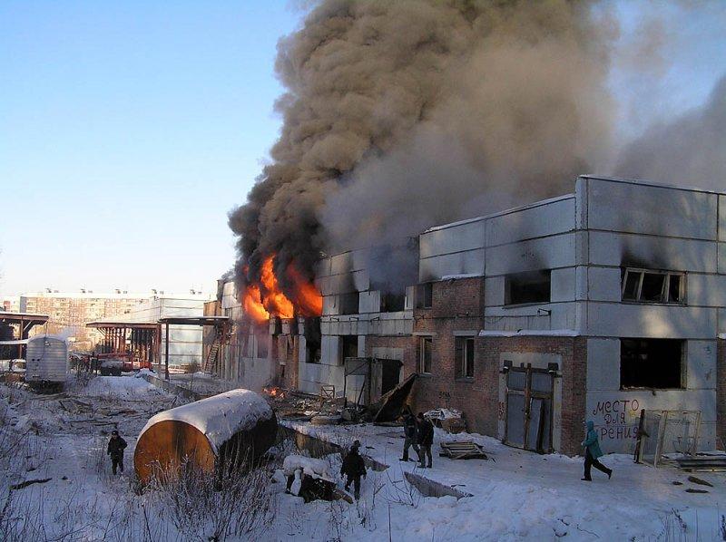 ВМагнитогорске вцехе ММК произошел пожар