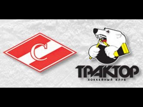 «Трактор» побуллитам победил «Спартак» вматче постоянного чемпионата КХЛ