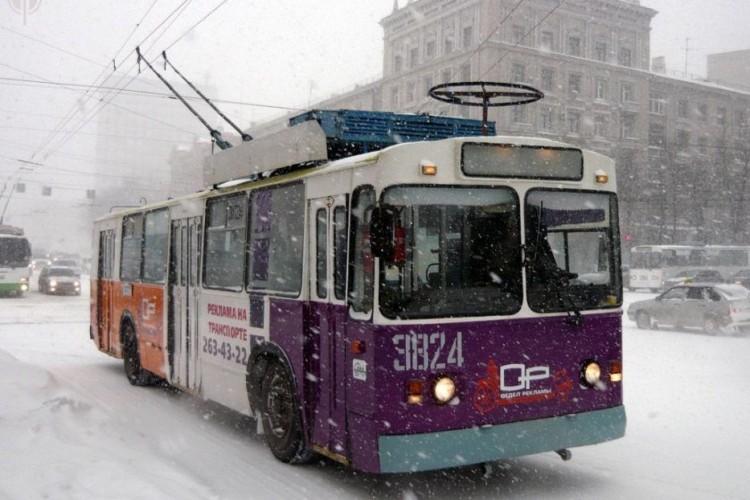 Зимой троллейбусы будут ходить чаще | cheltv.ru