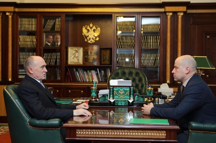 Дубровский принял председателя челябинского облизбиркома перед поездкой вЦИК