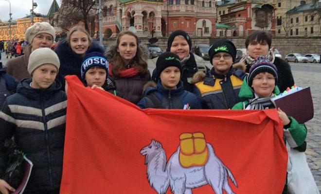 Дети изЧувашии приняли участие втысячеголосом Детском хоре РФ