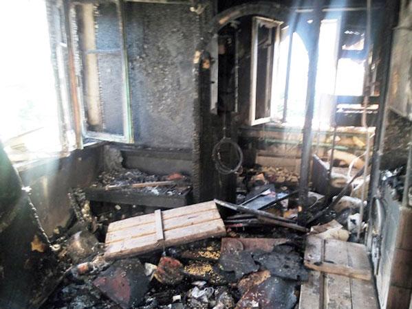 ВЧелябинской области из-за взрыва газового баллона семья лишилась крова