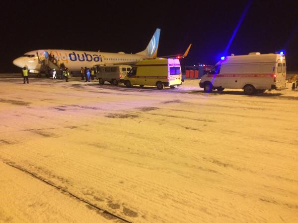 Вчелябинском аэропорту совершил вынужденную посадку летевший вЕкатеринбург рейс Fly Dubai