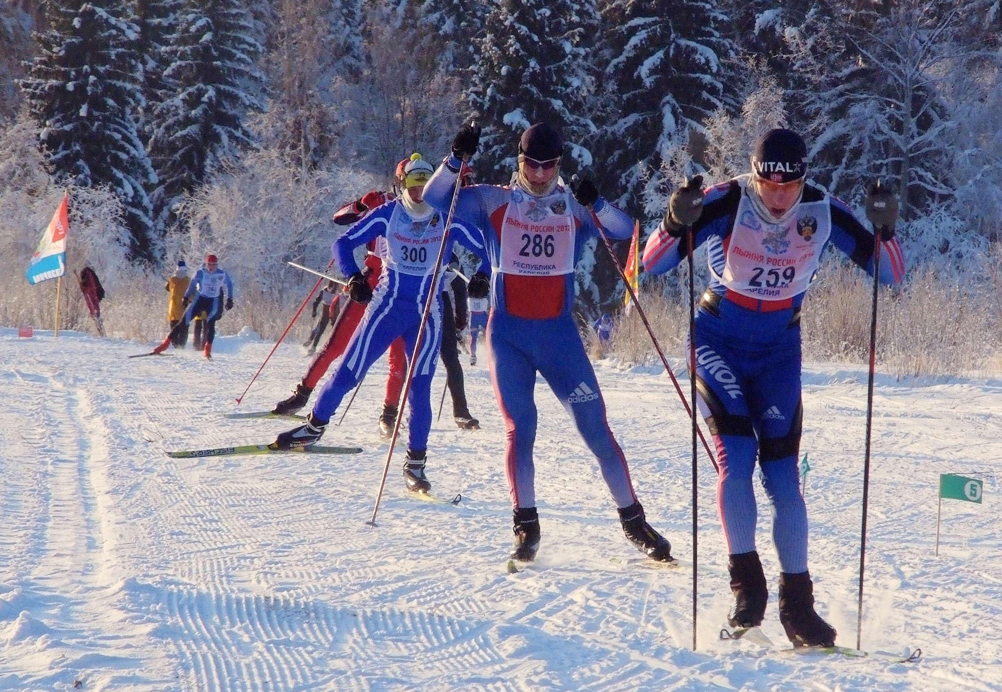 «Лыжню России» перенесли из-за морозов