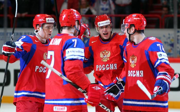 Сборная РФ похоккею может сыграть вКазани