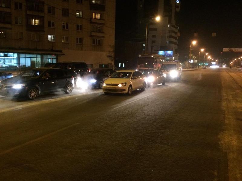 ВЧелябинске женщина погибла под колесами легковушки