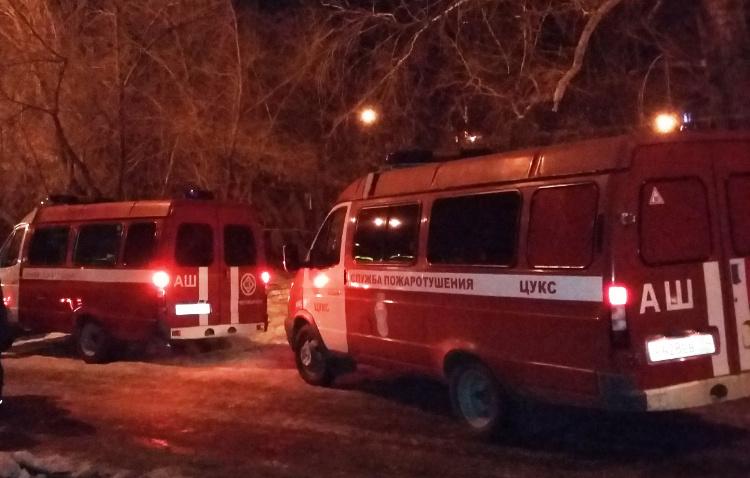 ВЧелябинске пожарные вынесли изгорящего дома 3-х детей иженщину инвалида