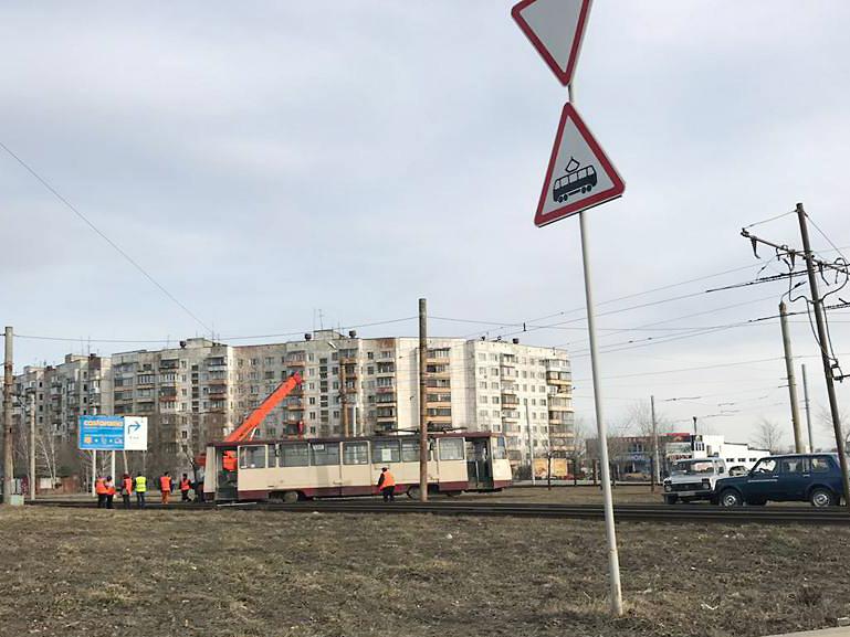 ВЧелябинске закрыли движение трамваев наМедгородок