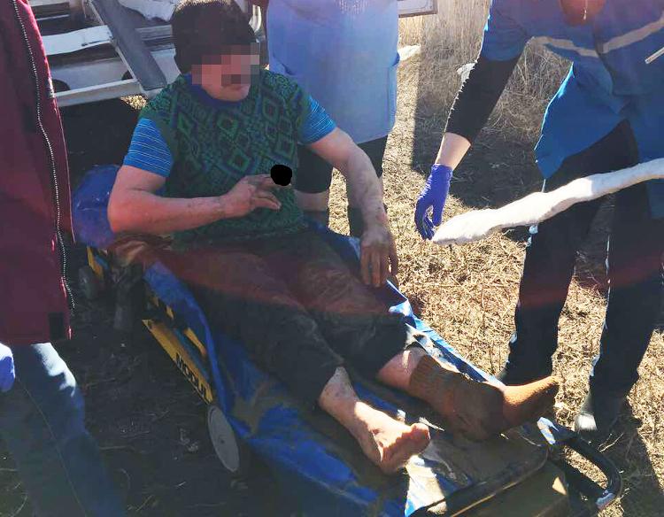 Мужчина упал в9-метровый колодец