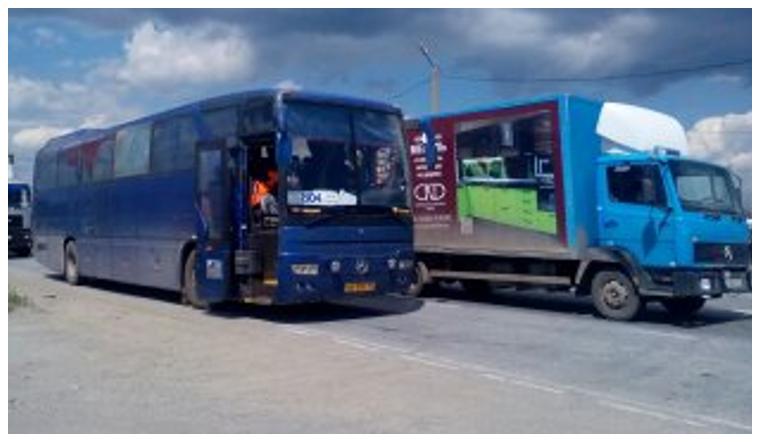 Работа водителем рейсового автобуса
