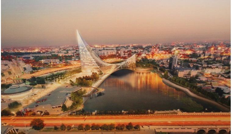 ВЧелябинске начали заниматься проектом делового центра нанабережной Миасса