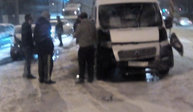В Челябинске произошло массовое ДТП с участием маршрутки