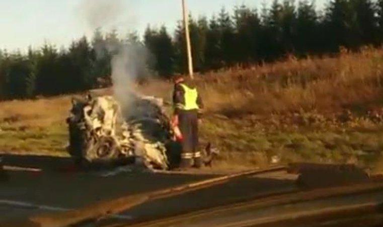Два человека погибли вВАЗе, неуступившем дорогу грузовику вКрасноармейском районе
