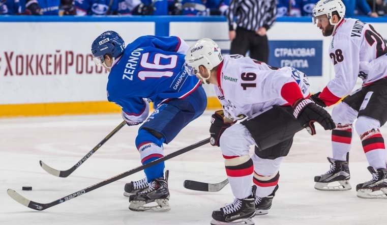 «Трактор» насвоем льду переиграл «Ладу» вматче постоянного чемпионата КХЛ