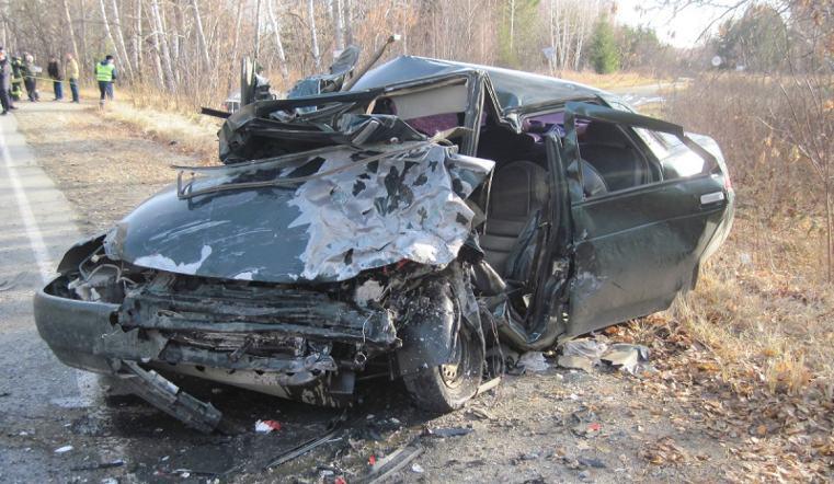Два водителя ВАЗа погибли вДТП вЧелябинской области