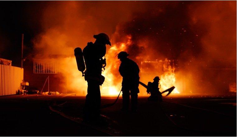 Строящаяся горно-обогатительная фабрика горела вЧелябинской области, никто непострадал