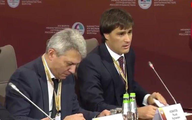 Участники российско-казахстанского форума прибыли назавод «Русские электрические двигатели»