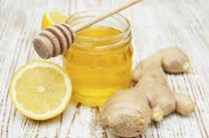 Мед, имбирь и лимон - отличные средства для иммунитета