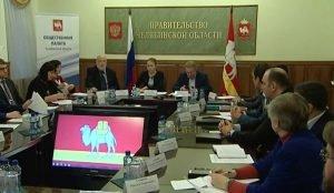 Общественная палата Челябинской области, заседание