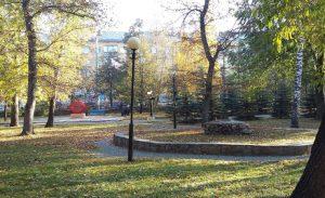 погода Челябинск парк Пушкина
