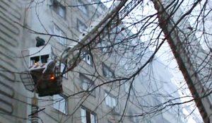 это один из самых сложных пожаров с начала года в Челябинске