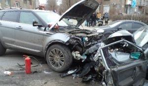 Водителя Range Rover, протаранившего ВАЗ отправили в СИЗО