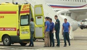 пострадавшую доставили в Челябинск