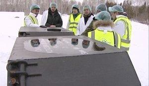 Своеобразный саркофаг для химических отходов состоит из шести барьеров безопасности