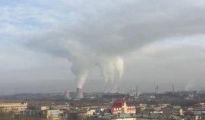 смог, выбросы, Челябинск