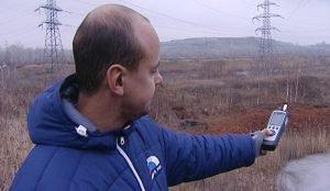 Это прибор экологического контроля – счетчик пылевых частиц ДТ-9880