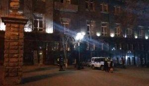 в Челябинске прошла также срочная эвакуация и из здания Законодательного Собрания области