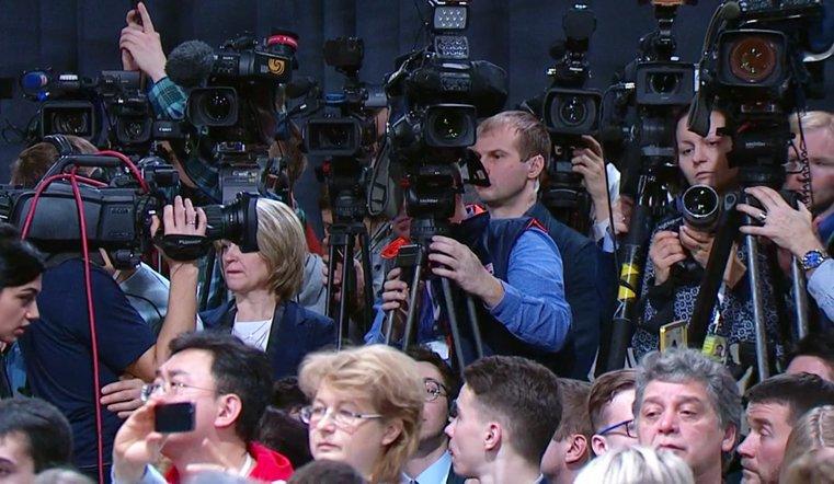 Югорские репортеры приехали кПутину