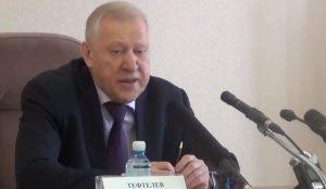 пресс-конференция главы города Тефтелева