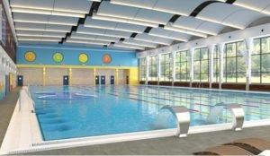 Новый бассейн открыли в Челябинске