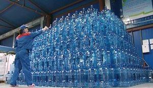 Сюда доставляют многооборотные ПЭТ-бутыли