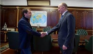 Андрей Чибис встретился с Борисом Дубровским