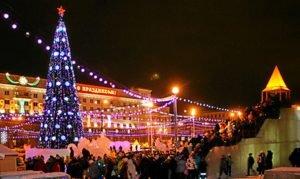 новый год Челябинск