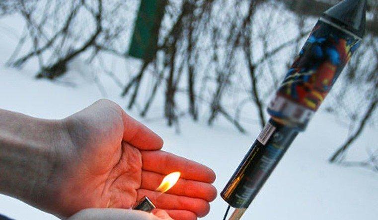 В Челябинске фейерверки разрешат запускать на стадионах