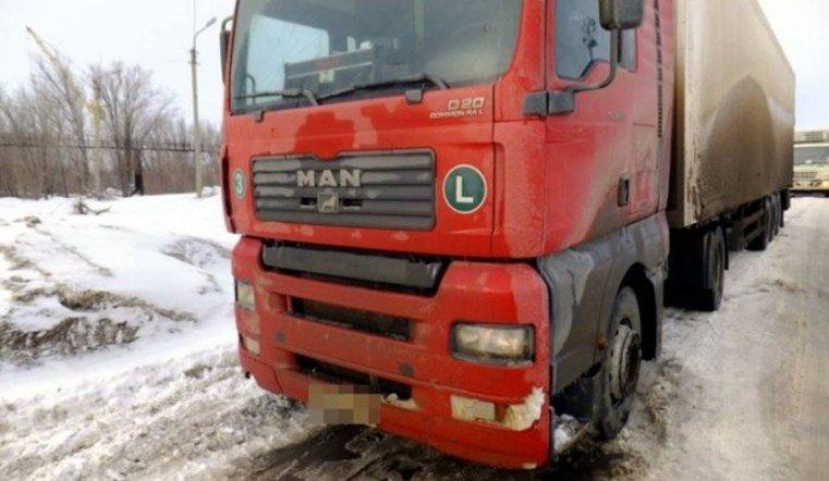 В Аргаяшском районе грузовик сбил женщину