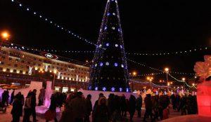Новогодний городок в Челябинске откроют 25 декабря