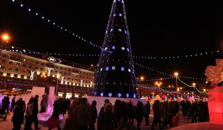 ВЧелябинске зажгут огни на основной  елке города