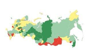 Самыми развитыми по части медиа стали Москва, Санкт-Петербург и Свердловская область