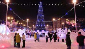25 декабря в Челябинске откроют Ледовый городок